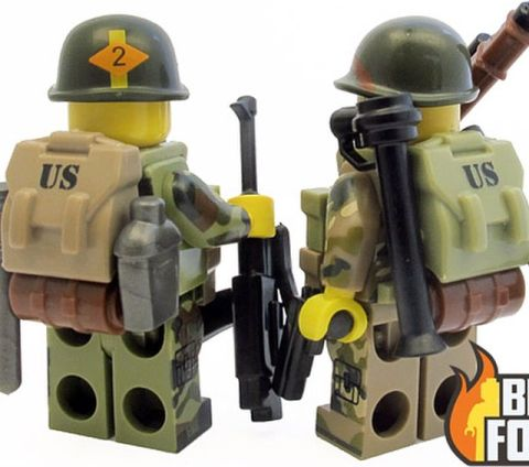 Custom LEGO Military Accessories by BrickForge 2