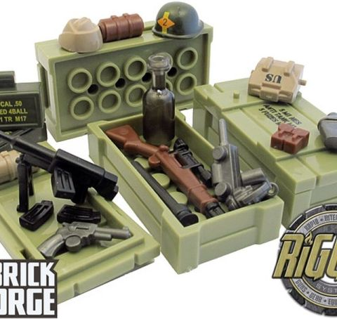 Custom LEGO Military Accessories by BrickForge 3