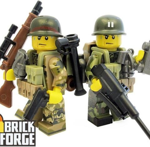 Custom LEGO Military Accessories by BrickForge 4