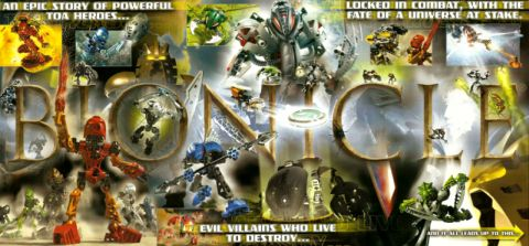 LEGO Bionicle 2015 - Poster