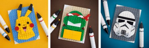LEGO Brick Sketches by Chris McVeigh