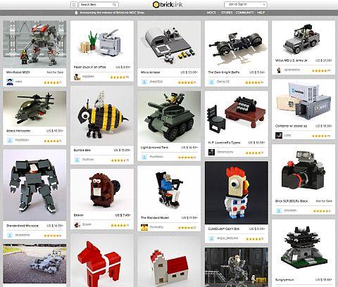 LEGO BrickLink MOC Shop Products