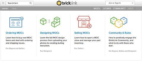 LEGO BrickLink MOC Shop