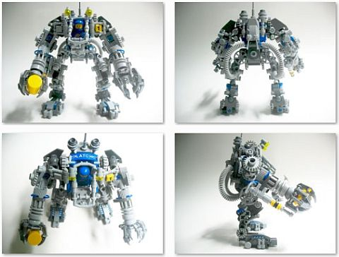 LEGO Exo Suit Modifications