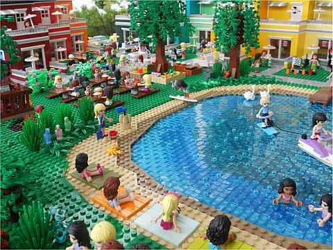 LEGO Friends Holiday Center by Anne Mette