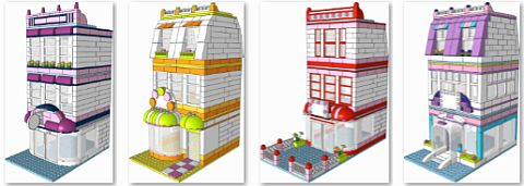 LEGO Friends Modulars by Kristel