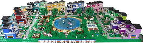 LEGO Friends Town by Anne Mette