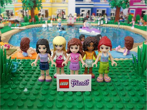 LEGO Friends by Anne Mette