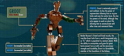 LEGO Guardians of the Galaxy Groot