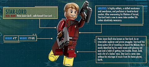 LEGO Guardians of the Galaxy Star-Lord