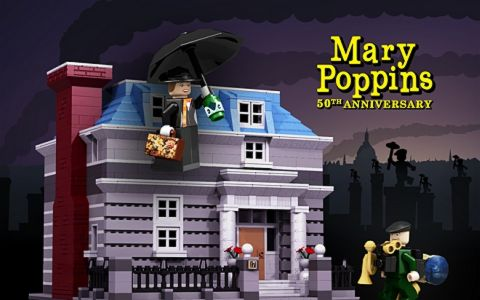 LEGO Ideas Mary Poppins by nicktierce