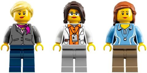 LEGO Ideas Research Institute Minifigures