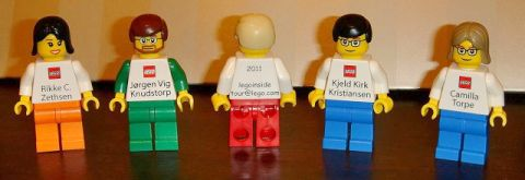 LEGO Inside Tour Business Cards