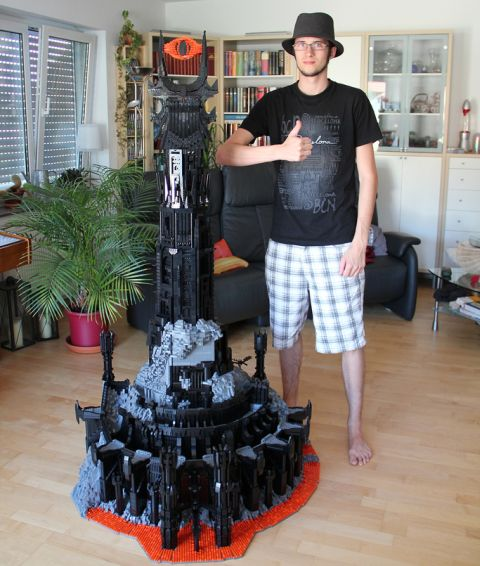 LEGO Lord of the Rings Barad-Dur by Kevin Walter