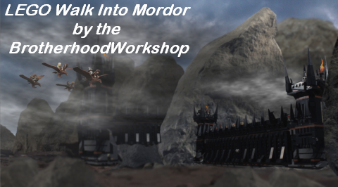 LEGO Lord of the Rings Walk Into Mordor by The Brotherhood Workshop