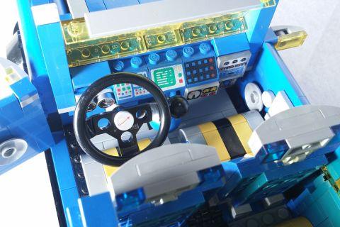 LEGO Mini Cooper - Classic Space Inside