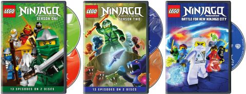 LEGO Ninjago DVD Collection