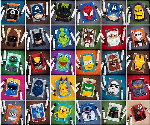 LEGO Scetches by Chris McVeigh