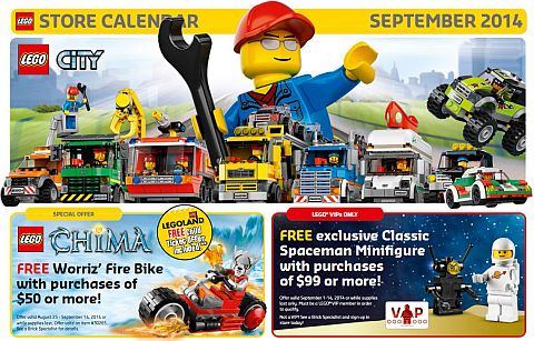 LEGO Shopping September
