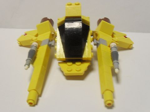 LEGO Spaceship Viper by ninja5