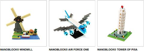 Nanoblock Site Sets