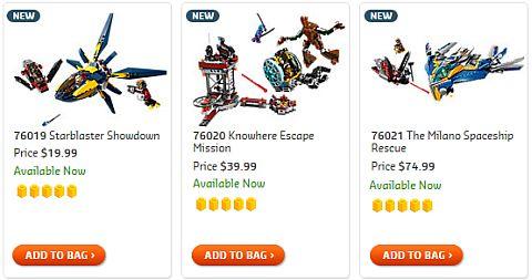 Shop LEGO Guardians of the Galaxy
