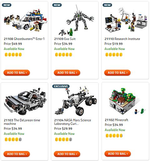 Shop LEGO Ideas