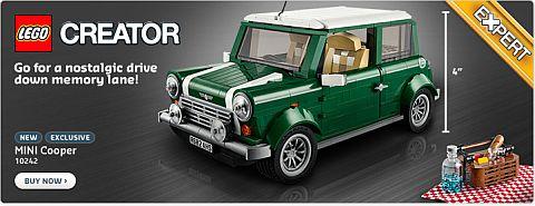 Shop LEGO Mini Cooper