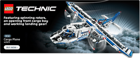 Shop LEGO Technic Cargo Plane