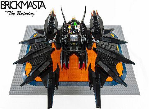 The LEGO Movie Batwing by BrickMasta