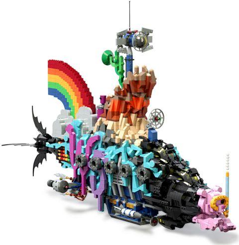 The LEGO Movie Master Builder Submarine