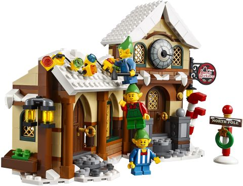 #10245 LEGO Santa's Workshop Front