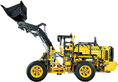 #42030 LEGO Technic Volvo Wheel Loader Side View