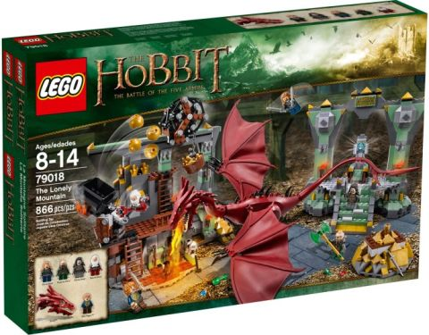 #79018 LEGO The Hobbit The Lonely Mountain