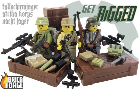 Custom LEGO by BrickForge WW2-Axis-Get-Rigged