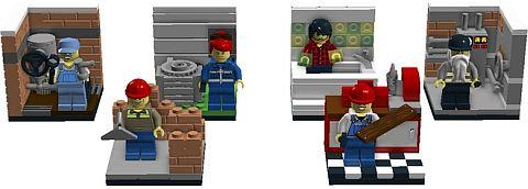 LEGO Blue Collar Workers on LEGO Ideas