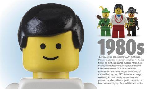 LEGO Book LEGO Minifigure 1980s