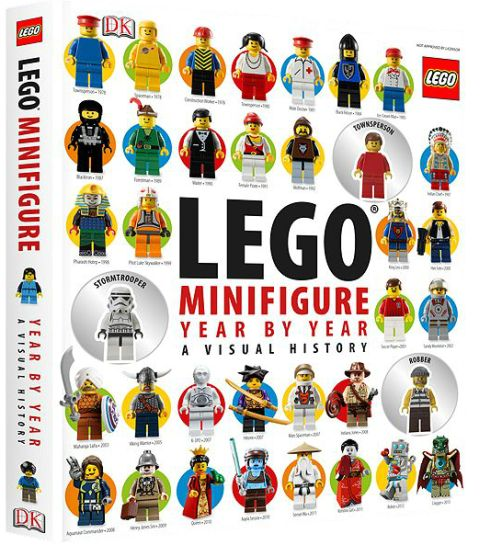 LEGO Book LEGO Minifigure Year by Year