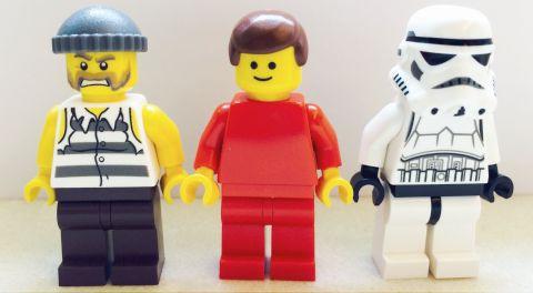 LEGO Book LEGO Minifigures