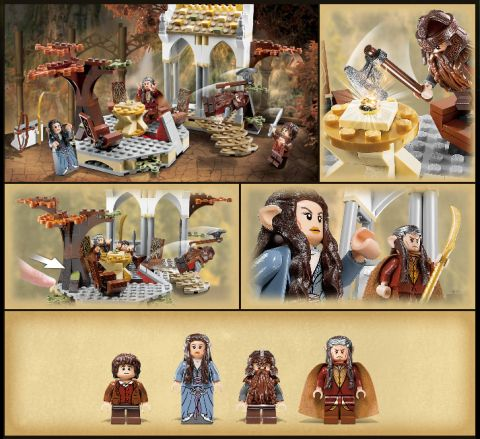 LEGO Council of Elrond