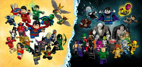 LEGO DC Super Heroes & Villains 2015