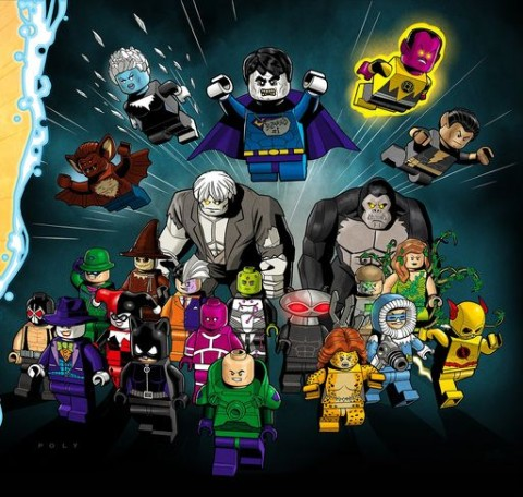 LEGO DC Super Heroes Villains