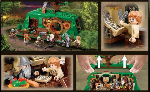 LEGO Hobbit House