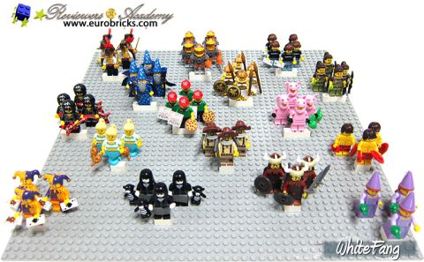LEGO Minifigures Series 12 Distribution