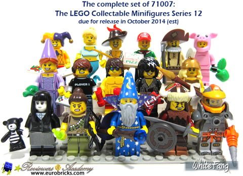 LEGO Minifigures Series 12 Review