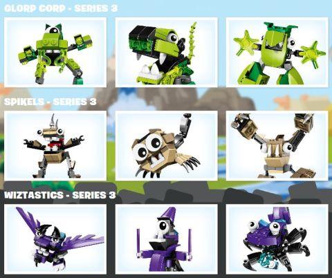 LEGO Mixels Series 3 Sets