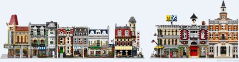 LEGO Modular Buildings Series