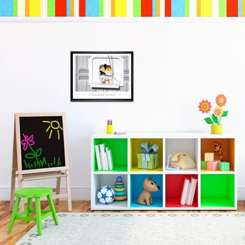 LEGO Poster Room Decor