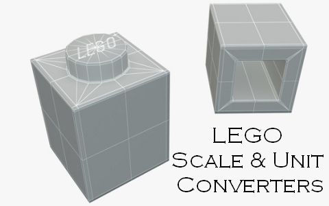 LEGO Scale & Unit Converters