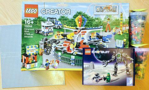 LEGO Shopping by Ernest